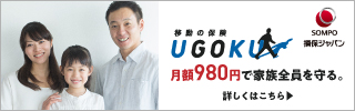 損保ジャパン UGOKU インターネット契約サービス